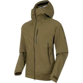 Mammut Kento HS Hooded Jacket Men olive